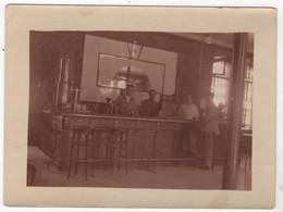 Photo Originale Prise Par 1 Légionnaire Légion Etrangère WWII Guerre Du Levant LIBAN SYRIE Mess Des Officiers Bar Café - War, Military