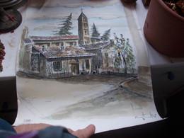 LUINO  COSTANTINI  1988-- CHIESA SAN PIETRO AL  CIMITERO - Autres Collections