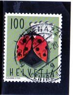 2018 Svizzera - Coccinella - Used Stamps