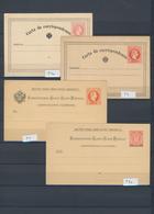 Österreichische Post In Der Levante - Ganzsachen: 1873/1914, Saubere Sammlung Von 25 Gebrauchten Und - Levant Autrichien