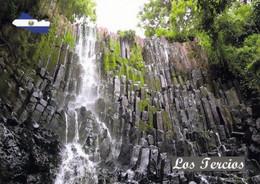 1 AK El Salvador * Der Wasserfall Los Tercios - Mit Seiner Bemerkenswert Geformten Steinmauer * - El Salvador