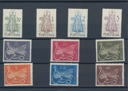 Portugal: 1950, Year Sets Per 50 Mint Never Hinged Complete. Some Stamps Are Hinged/with Faults. Eve - 1910-... République