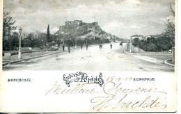 N°4425 R -cpa Souvenir D'Athènes -Acropole- - Greece