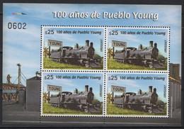 Uruguay (2020) - Block -  /  Train - Locomotive - Railway - Tren - Eisenbahn - Trains - Trenes