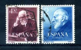 1952 SPAGNA SET USATO - 1931-Aujourd'hui: II. République - ....Juan Carlos I