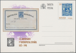 Spanien: 1996/1997 (ca.), Stock Of Stamps C.t.o., F.D.C. And Stationaties (c.t.o And Unused) Sorted - 2001-10 Neufs