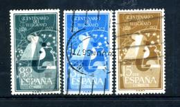 1955 SPAGNA SET USATO - 1931-Aujourd'hui: II. République - ....Juan Carlos I