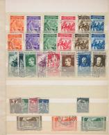 Vatikan: 1929/1980 (ca), Kleines Einsteckbuch Ab Nr. 1, Provisoriensatz Gestempelt (unsigniert), Jur - Collections