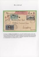 Vatikan: 1929/1990 (ca.), Fünf Alben/Ordner Mit Briefen Großteils Auf Selbst Gestalteten Seiten, Dab - Collections
