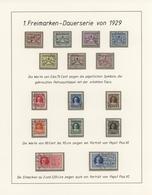Vatikan: 1929/2001 (ca), Gemischt Gesammelte, Umfangreiche Sammlung In 8 SAFE Alben, Teils Auf Vordr - Collections