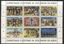 (stamps 16/9/2020) Solomon Island - Pope John Paul II - Mint Mini-sheet - Solomon Islands (1978-...)