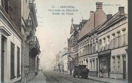 10 09/ S//    1910  BERCHEM CHAUSSEE DE BERCHEM + HOTEL DE VILLE - België