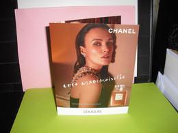 CHANEL * COCO MADEMOISELLE * L'EAU PRIVEE * DOUBLE CARD + EXTRA CARD - Modernes (à Partir De 1961)