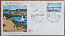 FDC 1969 - YT N°1585 - LA TRINITE SUR MER - 1960-1969