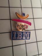 715e Pins Pin's / Rare & Belle Qualité THEME JEUX OLYMPIQUES / BARCELONA 1992 SPONSOR IBM Ils Sont Partout ! - Olympic Games