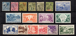 Nouvelle-Calédonie Belle Petite Collection De Bonnes Valeurs */oblitérés 1892/1938. B/TB. A Saisir! - Collections, Lots & Series