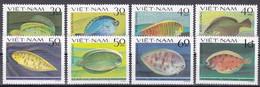 Tr_ Vietnam 1982 - Mi.Nr. 1272 - 1279 - Postfrisch MNH - Tiere Animals Fische Fishes - Fishes