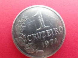 Bresil  1 Cruzeiro  1974  Km 581a - Brasile