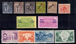 Guyane Belle Petite Collection De Bonnes Valeurs */oblitérés 1892/1931. B/TB. A Saisir! - Neufs