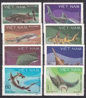 Tr_ Vietnam 1980 - Mi.Nr. 1111 - 1118 - Postfrisch MNH - Tiere Animals Fische Fishes - Fishes