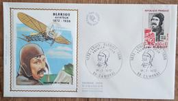 FDC 1972 - YT N°1709 - LOUIS BLERIOT, AVIATEUR - CAMBRAI - 1970-1979