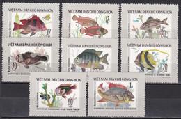 Tr_ Vietnam 1976 - Mi.Nr. 866 - 873 - Postfrisch MNH - Tiere Animals Fische Fishes - Fishes