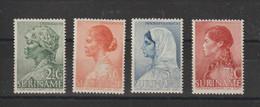 Surinam 1940 Oeuvre Pour La Jeunesse 186-189 4 Val ** MNH - Surinam