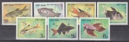 Tr_ Vietnam 1984 - Mi.Nr. 1453 - 1459 - Postfrisch MNH - Tiere Animals Fische Fishes - Fishes