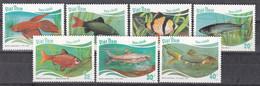 Vietnam 1988 - Mi.Nr. 1896 - 1902 - Postfrisch MNH - Tiere Animals Fische Fishes - Fishes