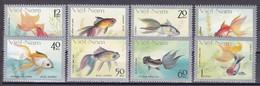Tr_ Vietnam 1977 - Mi.Nr. 931 - 938 - Postfrisch MNH - Tiere Animals Fische Fishes - Fishes