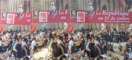 """France Livre """"La République Au Fil Des Timbres """" (1997) Trois Exemplaires Neufs ** MNH. TB. A Saisir! - Frankrijk"""