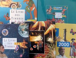 """France Années 1995, 1997, 1998, 1999 Et 2000 Complètes Neufs ** MNH Dans Les """"livres De La Poste"""". TB. A Saisir! - 1990-1999"""