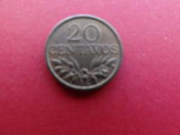 Portugal  20 Centavos  1971  Km 595 - Portogallo