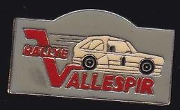 66809- Pin's.Rallye Automobile.le Vallespir Dans Les Pyrénées-Orientales - Rallye