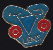 66812- Pin's.Cyclisme .Lens. - Ciclismo