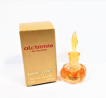 Miniatures De Parfum    ALCHIMIE  De ROCHAS  EDP    5 Ml  + Boite - Miniaturen Flesjes Dame (met Doos)