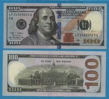 USA HELL BANKNOTES LOT 5 BILLETS 100 DOLLARS - Fictifs & Spécimens