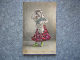 ESPAGNE - ARTISTE ANGELITA SOLSONA - PAILLETTES - Spain