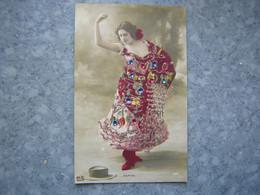ESPAGNE - ARTISTE PEPITA - PAILLETTES - Spain