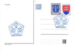 SLOVENIA BRATISLAVA 1999 STATIONERY POST CARD    (SETT200485) - Slovenia