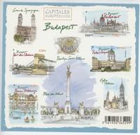 F 4538 Neuf ** Y.T. Feuillet FRANCE Budapest Capitales Européennes - Ongebruikt