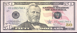 USA 50 Dollars 2004A G  - AUNC # P- 522b < G7 - Chicago IL > - Biljetten Van De  Federal Reserve (1928-...)