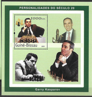 GUINEA - BISSAU 2001  Chess Champions GARRY KASPAROV MNH - Scacchi