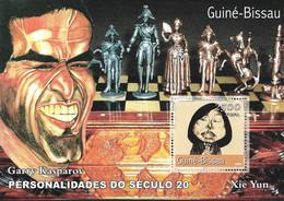 GUINEA - BISSAU 2001  Chess Champions GARRY KASPAROV MNH - Chess