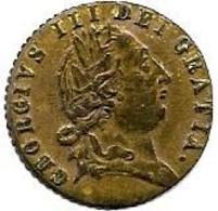 ANGLETERRE...   GEORGIUS  III    1790   ....JETON BIRMINGHAM  . TOKEN..  ..TTB........PORT FRANCE 1.50...  EUROPE 3.20 - Danimarca