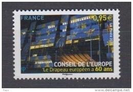 2015-N°163** LE DRAPEAU EUROPEEN A 60 ANS - Nuovi