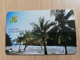 JAMAICA  J$20,-  GPT CARD  JAMAICAN BEACH SCENE   CONTROL NR: 1JAMA   Fine Used Card  **3222** - Giamaica