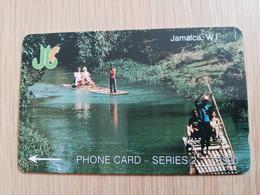JAMAICA  J$20,-  GPT CARD  RIO GRANDE    CONTROL NR: 1JAMB   Fine Used Card  **3223** - Giamaica