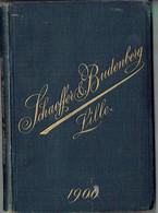 Ancien Catalogue SCHAEFFER ET BUDENBERG  A Lille  De 1900 - Old Paper