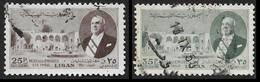 LIBAN  1950 -  PA  59 Et 60 -  Bechara El-Khoury   Oblitérés - Lebanon